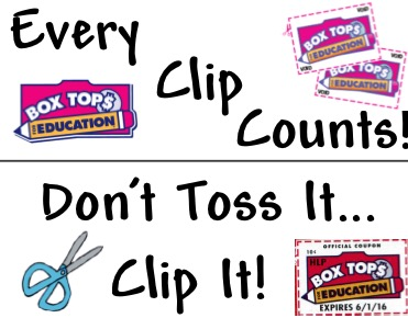 Continue Clipping Those Box Tops Over The Summer!