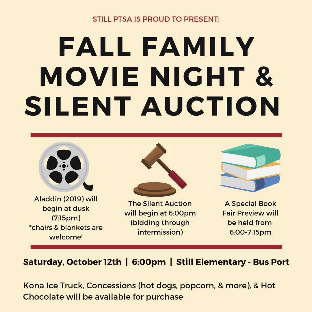 Fall Movie Night and Silent Auction